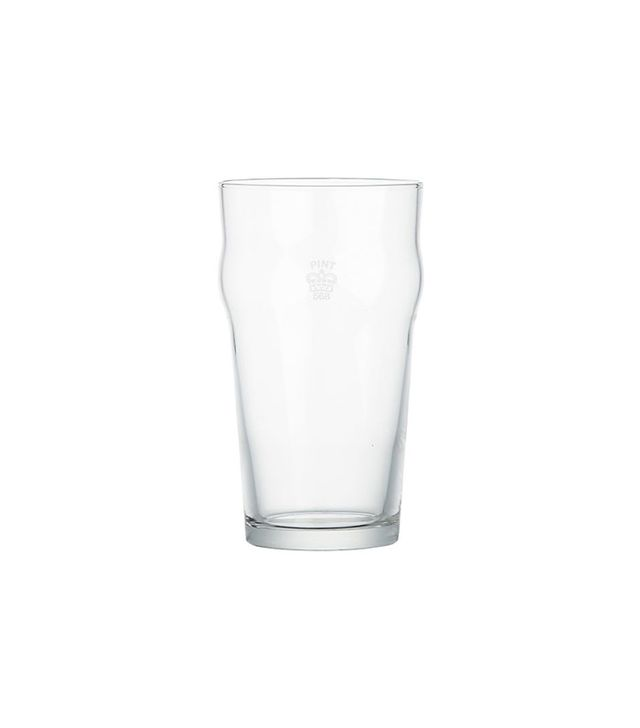 Crate & Barrel Pint Tumbler With Crown