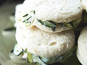 Creamy Cucumber Salad Sandwiches