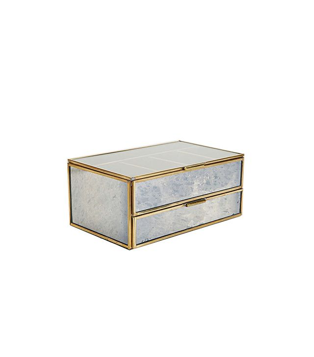 Magical Thinking Distressed Mirror Jewellery Box