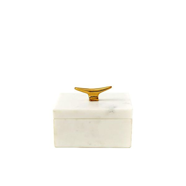West Elm Marble Cleat Boxes