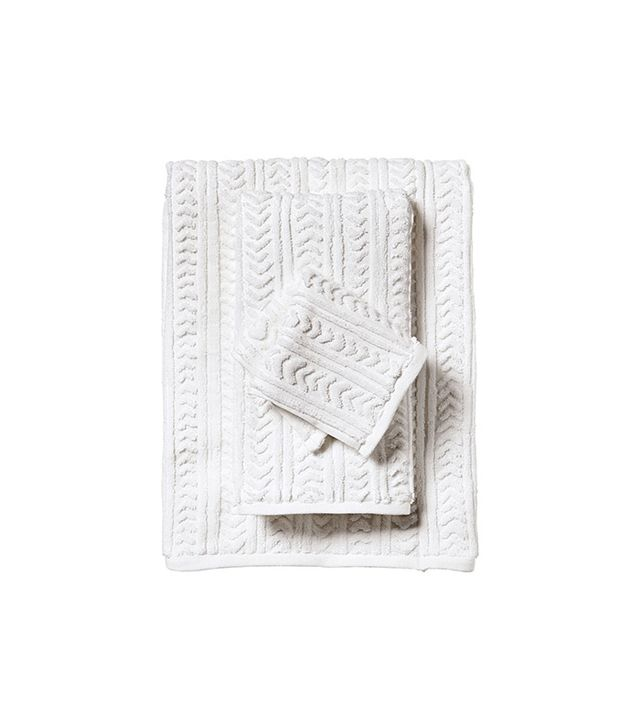 Serena & Lily Chevron Jacquard Bath Towels