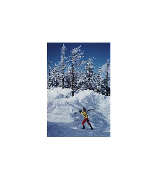 """Skier in Vermont"" by Slim Aarons"