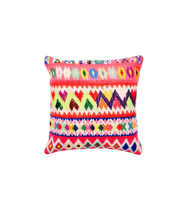 Leif Peruvian Embroidered Pillow