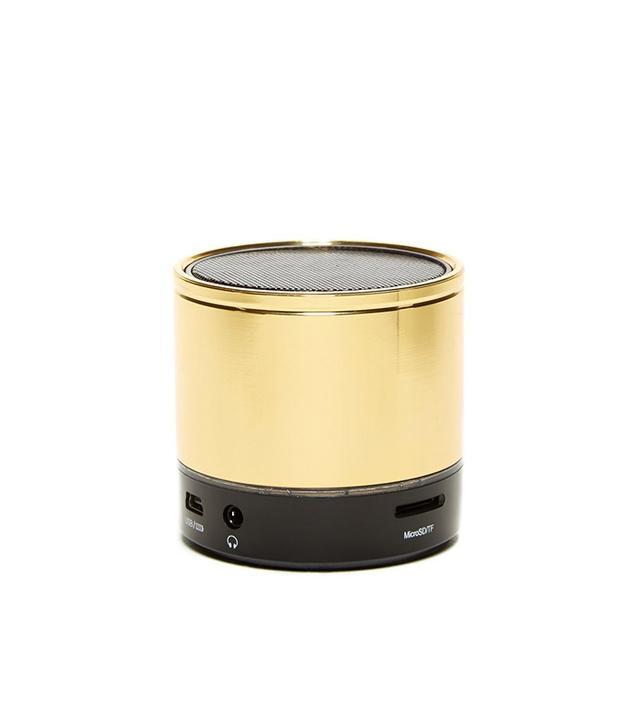 PhunkeeTree Gold Mini Bluetooth Speaker
