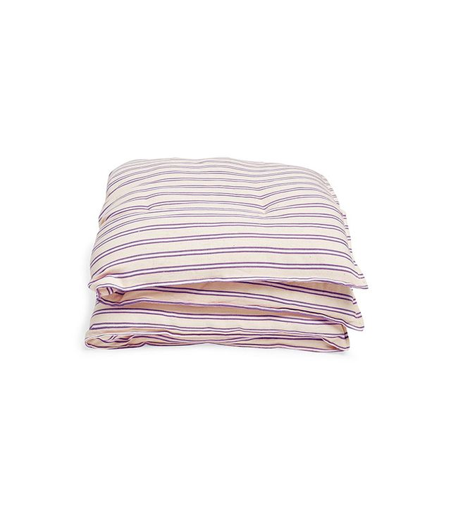 Kas Violet & Cream Floor Cushion