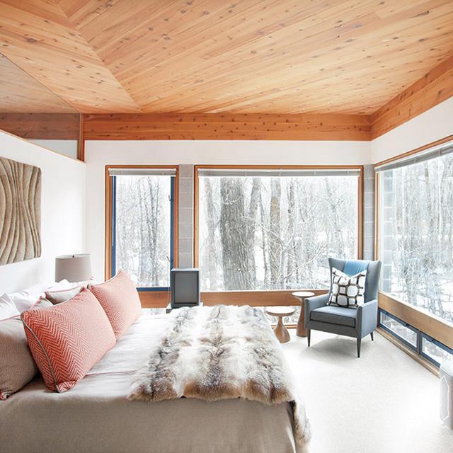 Home Tour: An Artful Aspen Cabin by Hillary Thomas