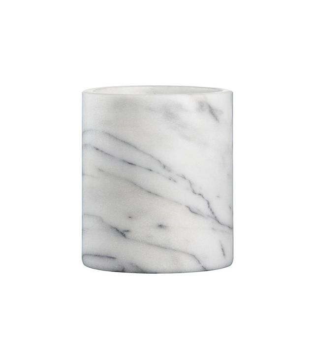 Crate & Barrel French Kitchen Marble Utensil Holder