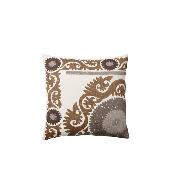Pottery Barn Shimmer Suzani Pillow Cover