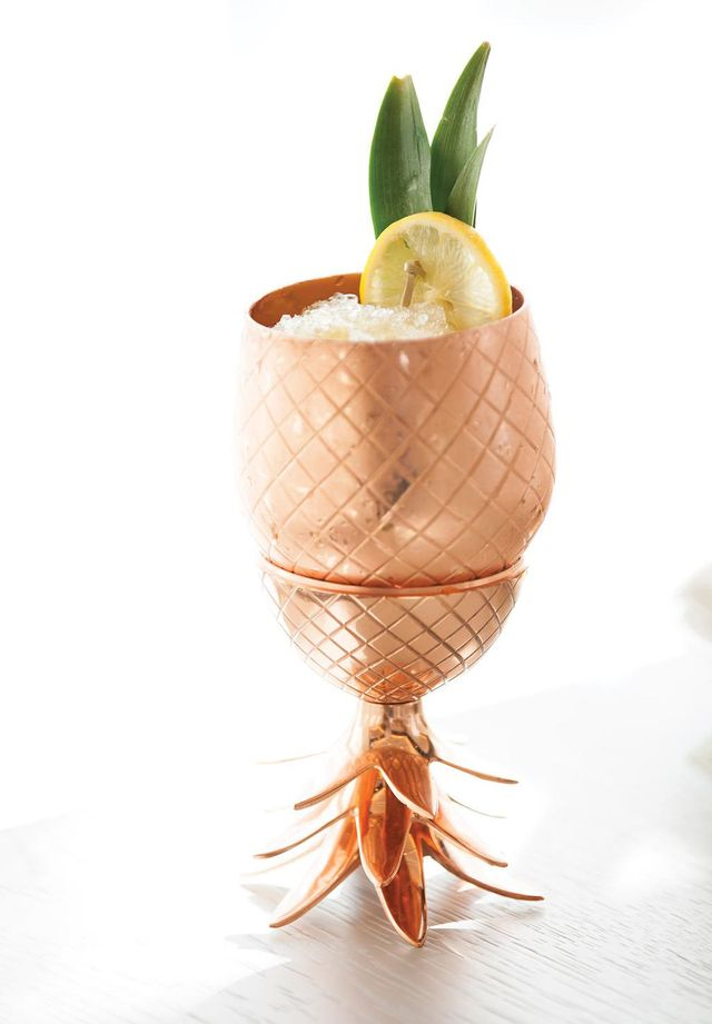 The Copper Pineapple Cocktail That's Taking the World by Storm
