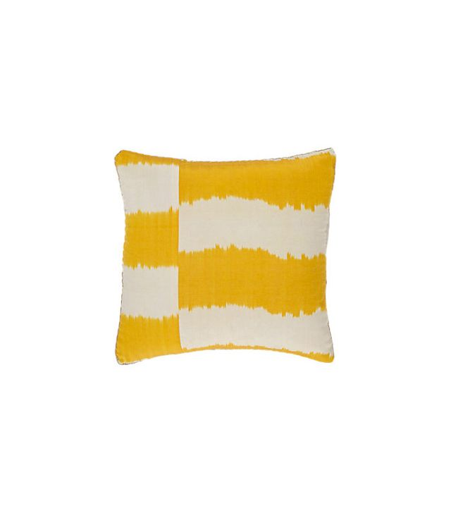 Madeline Weinrib Stripe Ikat pillow