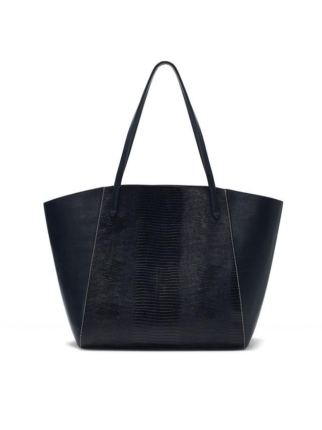 Zara Combined Shopper Bag