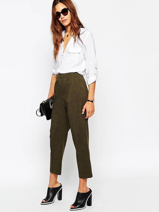 ASOS Premium Tapered Pants