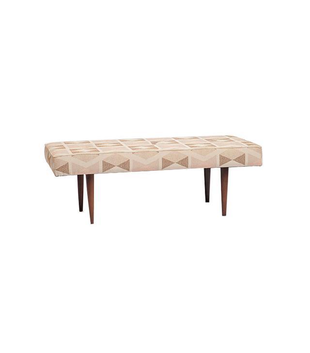 Henderson  Printed Upholstered Bench