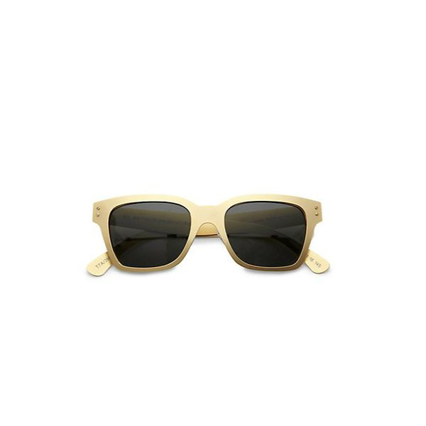Retrosuperfuture Metal America Oro Sunglasses