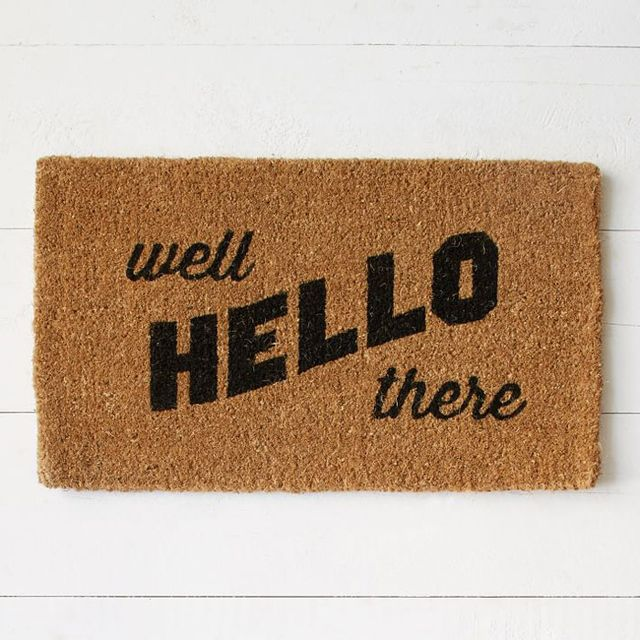 8 Chic Door Mats to Welcome You Home
