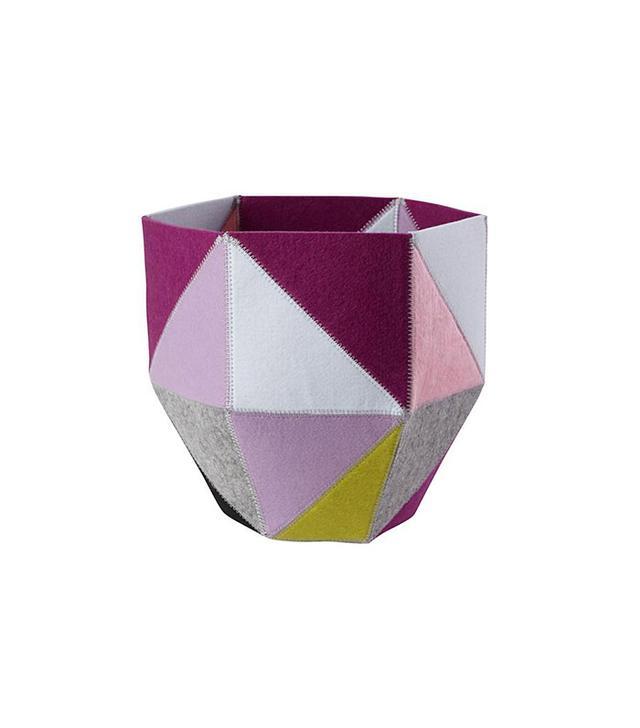 Land of Nod Quartz Cube Bin