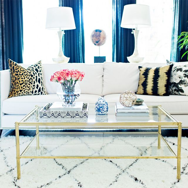 Inside a Totally Glam Updated Traditional Home