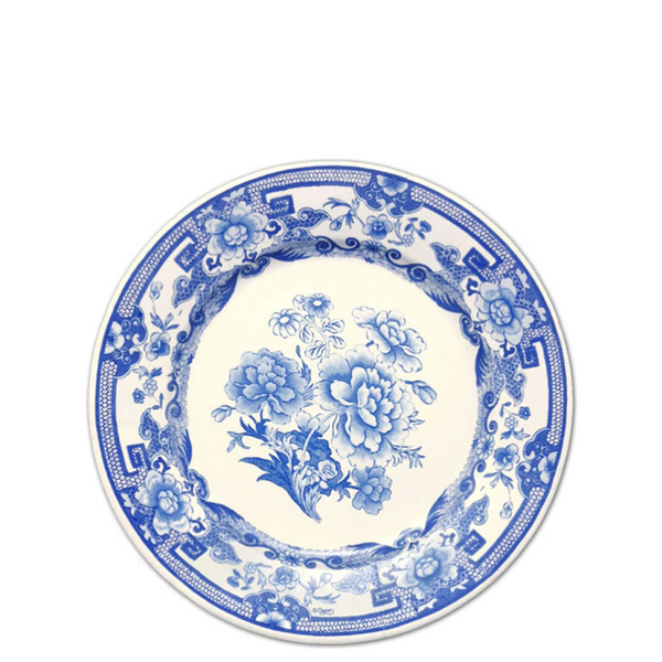 PaperStyle Blue and White Paper China Dinner Plates