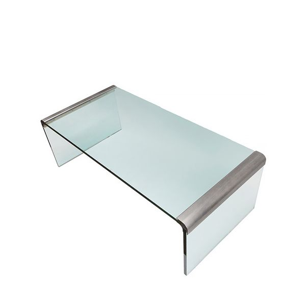"1stdibs Midcentury ""Waterfall"" Coffee Table by Leon Rosen for Pace"