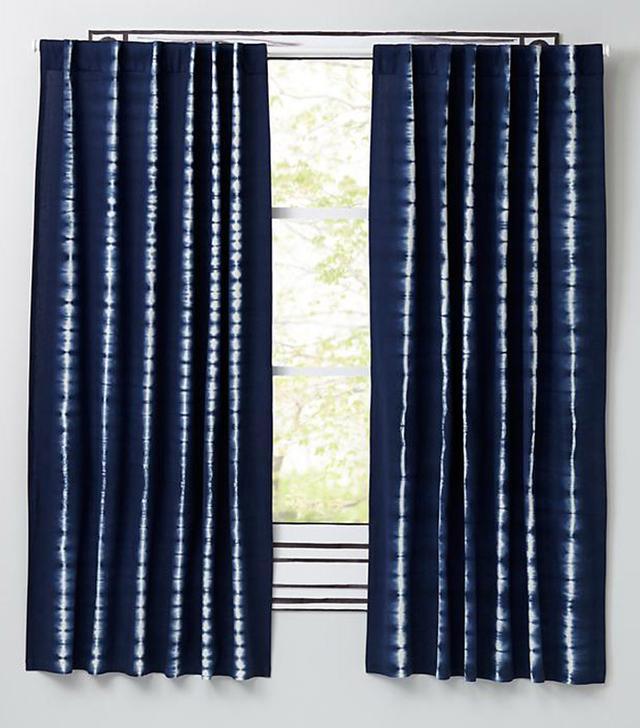 Land of Nod Tie-Dye Curtain Panels