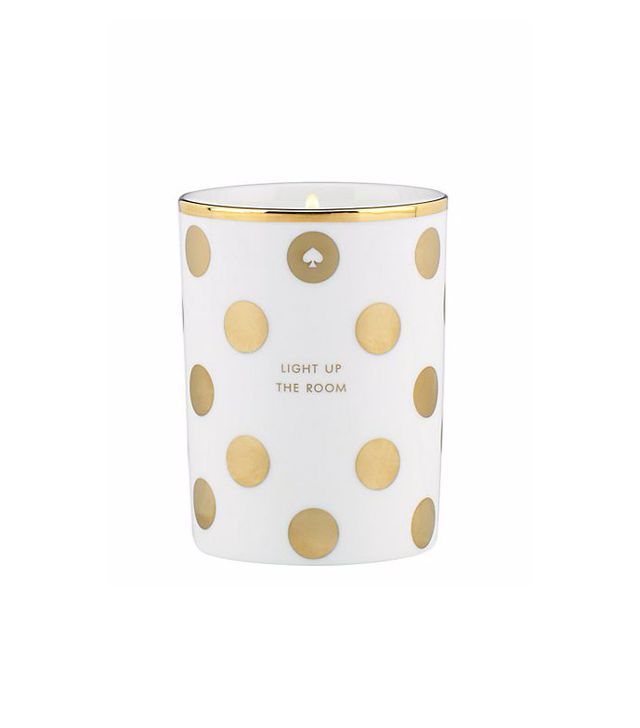 """Kate Spade """"Light Up the Room"""" Candle"""