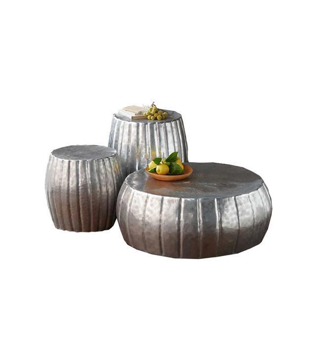 VivaTerra Hammered Drum Collection