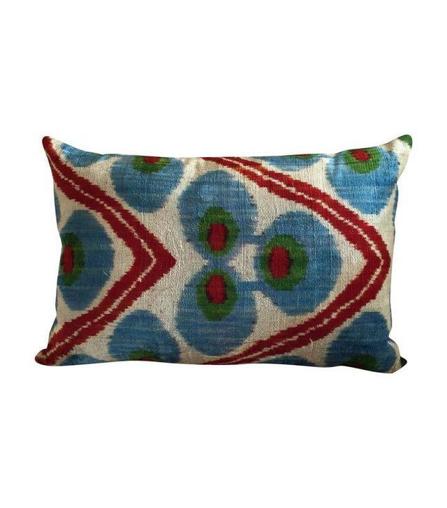 Chairish Vintage Silk Velvet Pillow