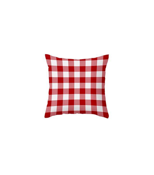 Dot&Bo Checkerboard Accent Pillow Cover