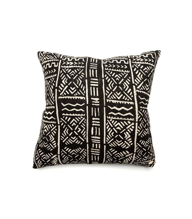 St. Frank Mud Cloth Pillow