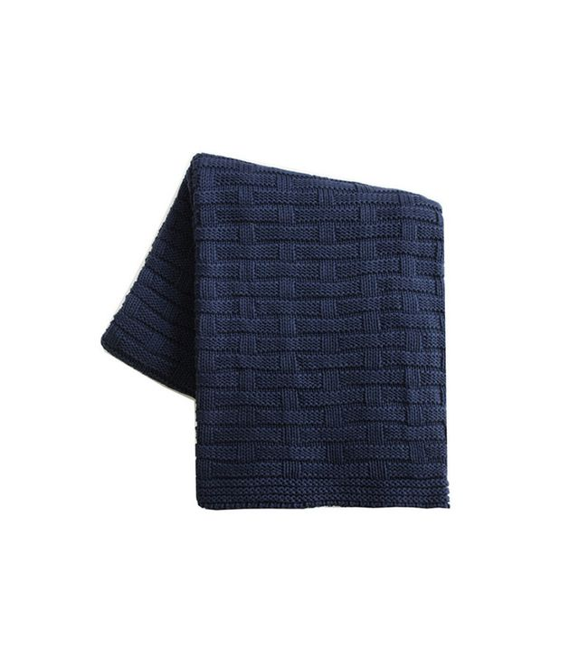 High Street Market Chunky Weave Throw Blanket