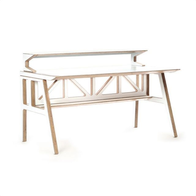 Context Furniture Truss Library Desk