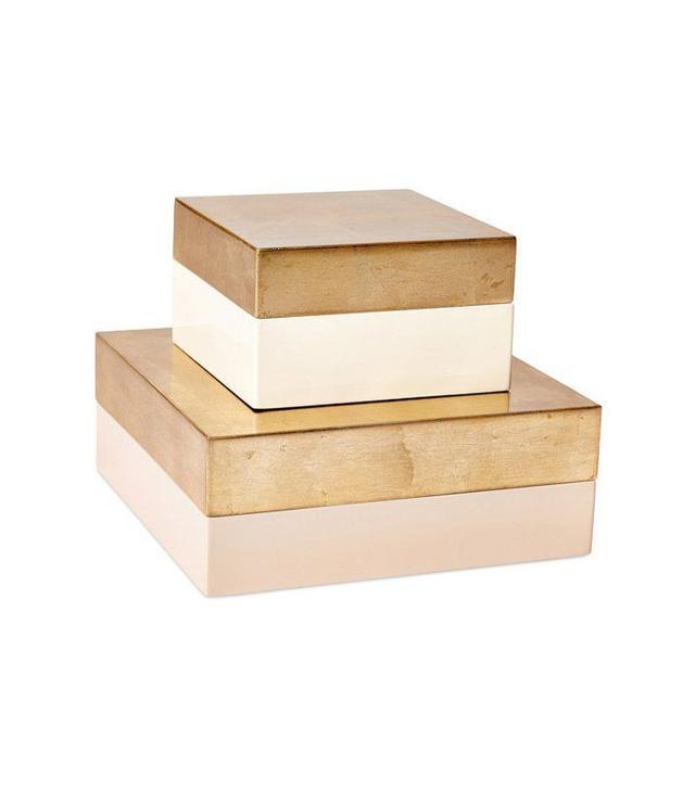 One Kings Lane 2 Sienna Boxes