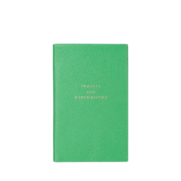 """Smythson """"Travels and Experiences"""" Panama Notebook"""