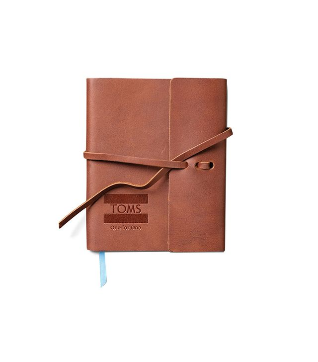 Toms Saddle Brown Travel Journal
