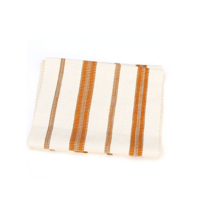 Heather Taylor Home Striped Cotton Table Runner