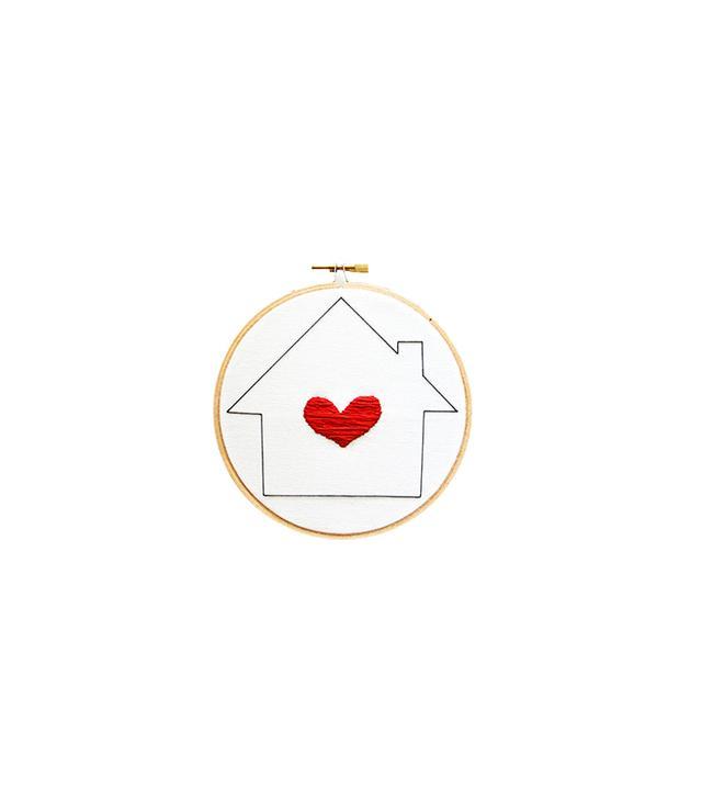 Sarah K. Benning Happy Home Embroidery Loop