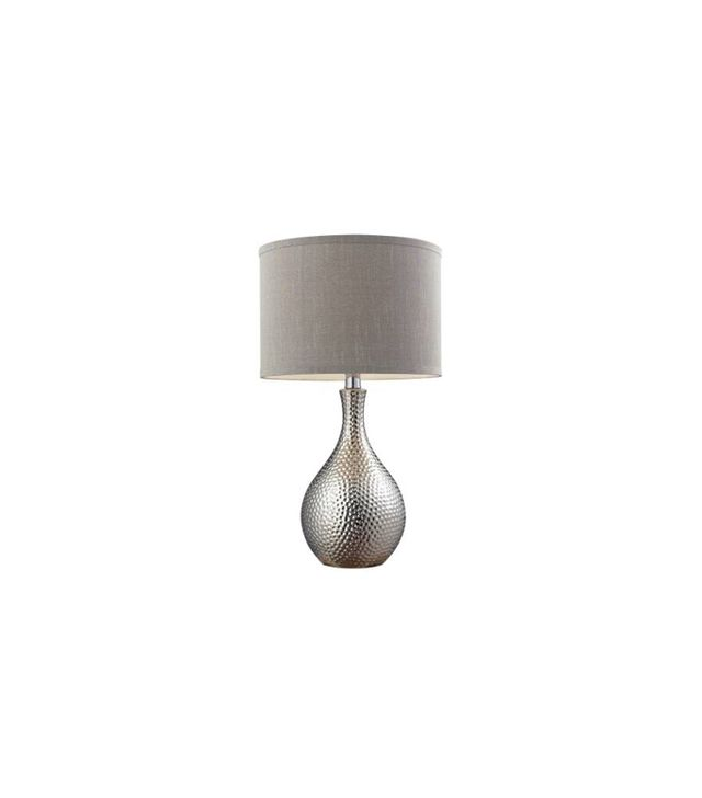 Dimond Lighting Hammered Chrome Table Lamp