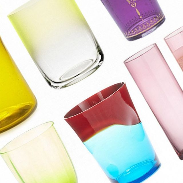 We're Coveting This Colourful Glassware for Warm-Weather Days