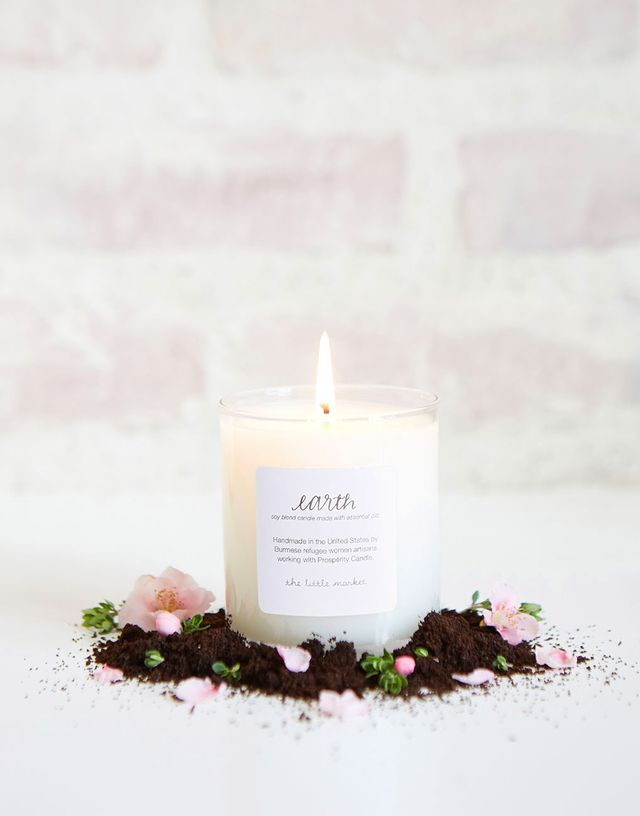 The Little Market Earth Soy Blend Candle
