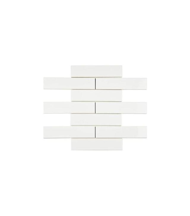 Merola Tile Metro Soho Subway Glossy White Til