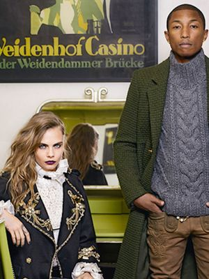These New Chanel Ads Starring Pharrell and Cara Delevingne Are SO Good
