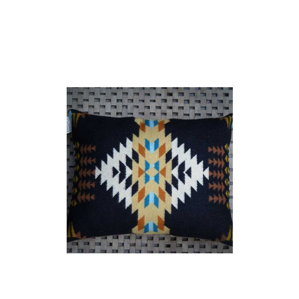 Scout & Whistle Echo Black Geometric Pillow