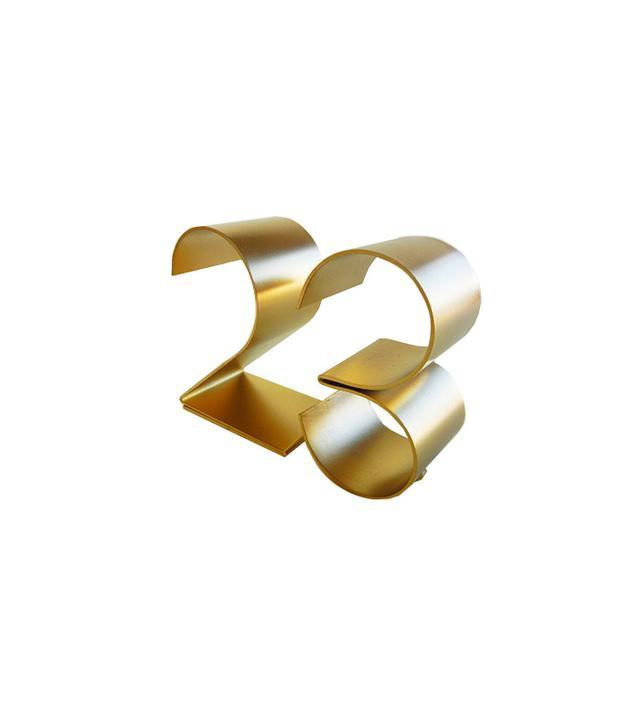 Guage NYC Metal Table Numbers
