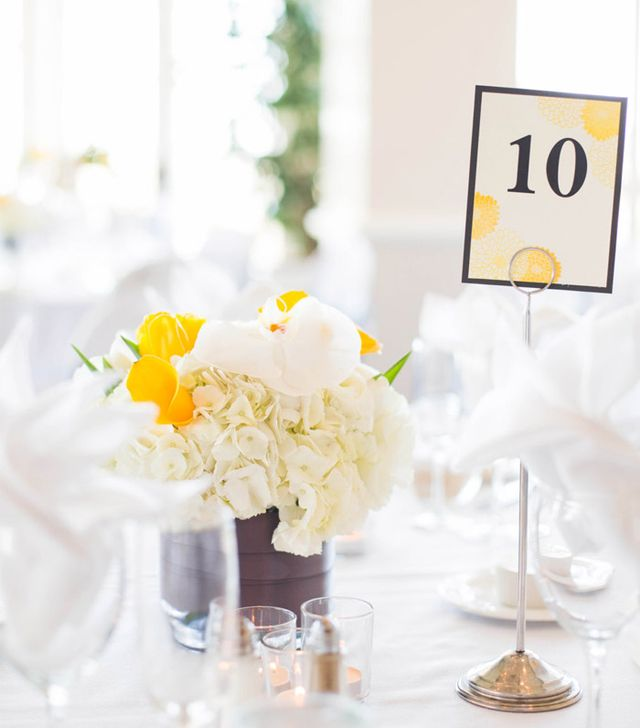 Strong Beach Embossed Romantic Flower Wedding Table Number Signs