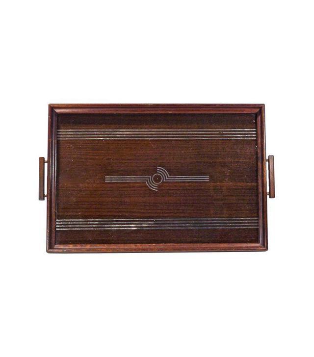 Vermilion Designs Eglomise Art Deco Tray
