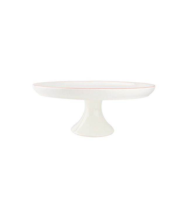 Canvas Home Abbesses Cake Stand in Red