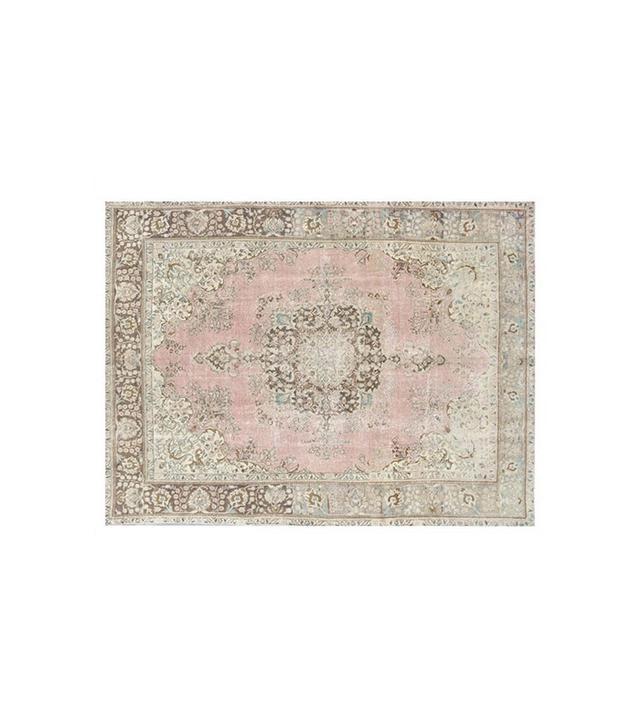 Retro Rugs Vintage Natural Stone-Washed Handmade Carpet.