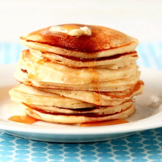A Kid-Friendly Recipe for Make-Ahead Pancakes