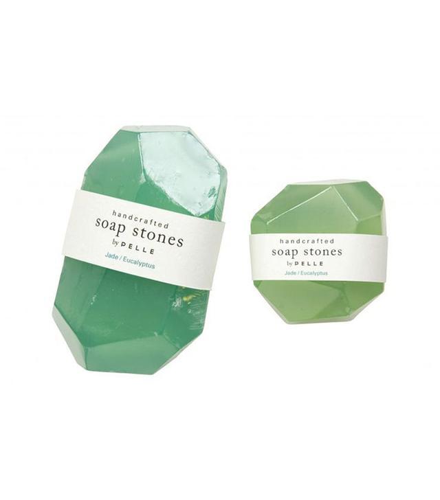 Pelle Jade / Eucalyptus Handcrafted Soap Stones