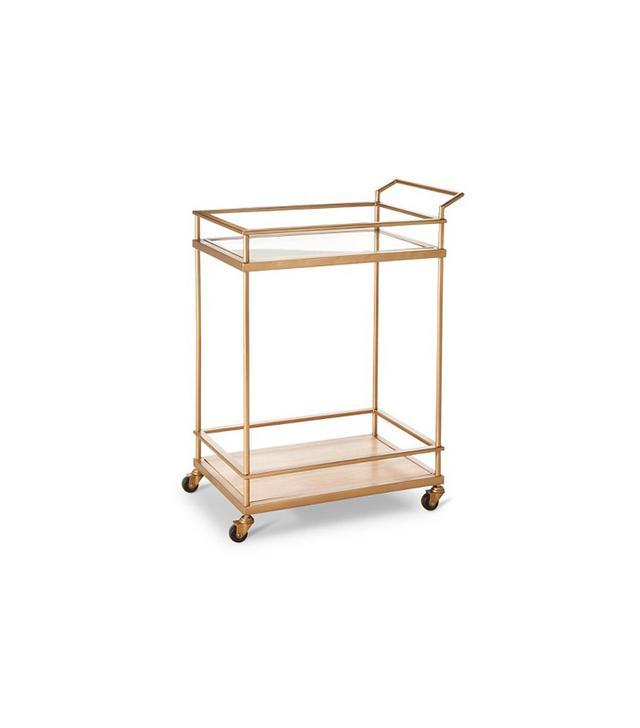 Threshold Gold Bar Cart